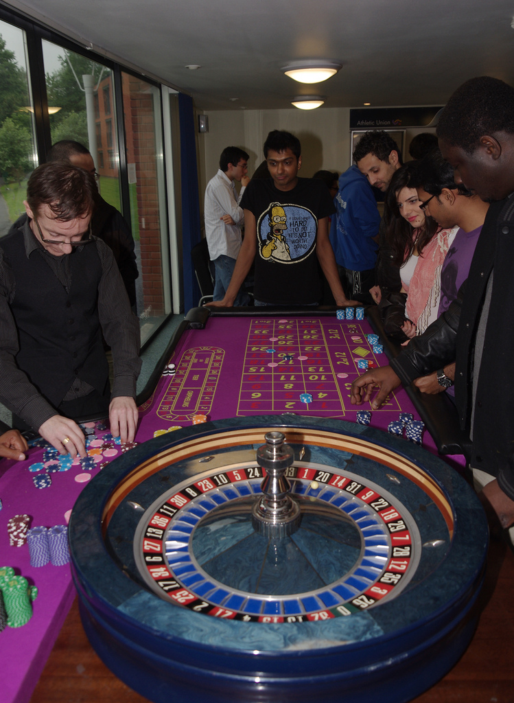 Charity casino events are a place where spinner biases may occur more frequently, a fact that may help you win big in Roulette